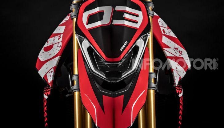 Ducati Hypermotard 950 2020, Il Concept ha la frizione a secco - Foto 3 di 9