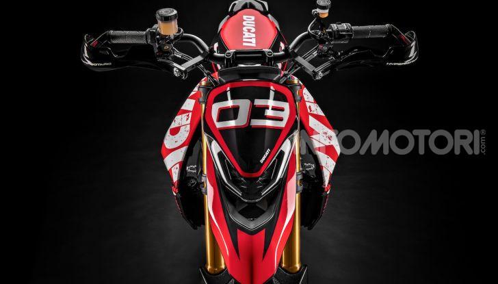 Ducati Hypermotard 950 2020, Il Concept ha la frizione a secco - Foto 4 di 9