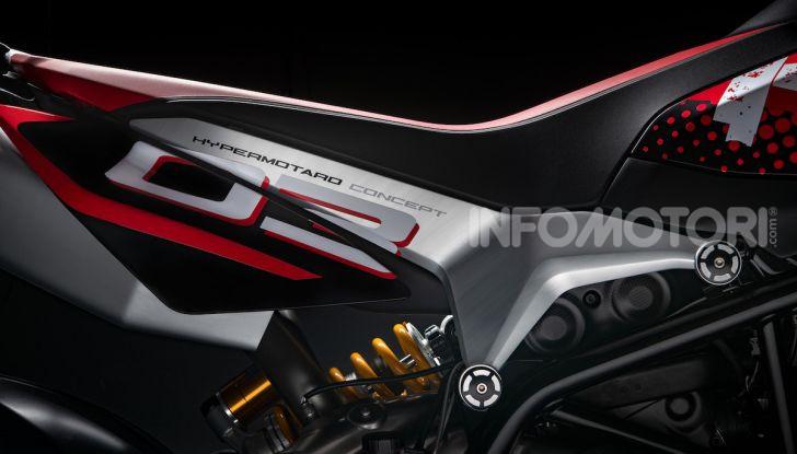 Ducati Hypermotard 950 2020, Il Concept ha la frizione a secco - Foto 7 di 9