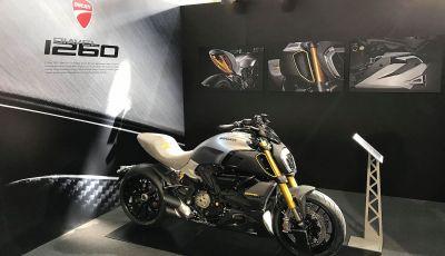 Ducati Diavel 1260 Materico in mostra al MOARD