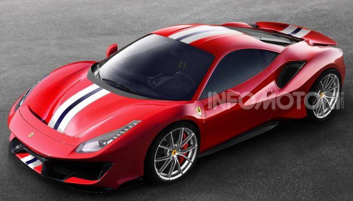 La Ferrari 488 Hybrid 2019 debutta a Maranello: 1.000CV di potenza ibrida - Foto 7 di 13