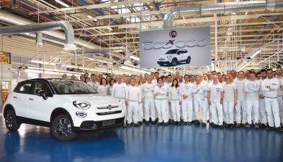 Fiat 500X da record: prodotta la vettura numero 500.000