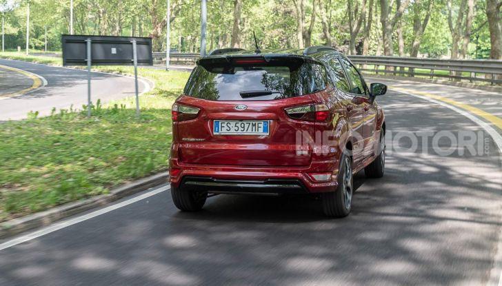 Prova Ford EcoSport 2019, il rinnovato B-SUV dell'ovale blu alla conquista dell'Europa - Foto 2 di 54