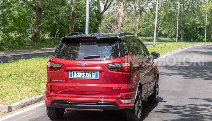 Prova Ford EcoSport 2019, il rinnovato B-SUV dell'ovale blu alla conquista dell'Europa - Foto 3 di 54