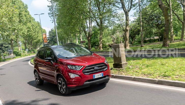 Prova Ford EcoSport 2019, il rinnovato B-SUV dell'ovale blu alla conquista dell'Europa - Foto 4 di 54