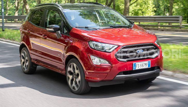 Prova Ford EcoSport 2019, il rinnovato B-SUV dell'ovale blu alla conquista dell'Europa - Foto 5 di 54