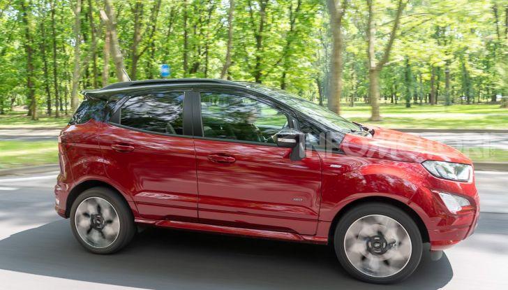 Prova Ford EcoSport 2019, il rinnovato B-SUV dell'ovale blu alla conquista dell'Europa - Foto 6 di 54