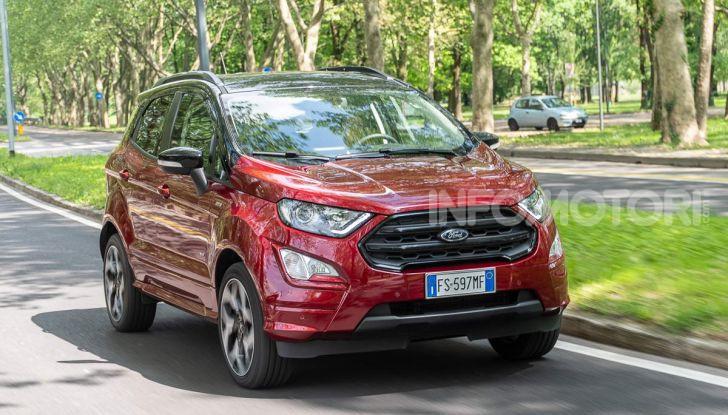 Prova Ford EcoSport 2019, il rinnovato B-SUV dell'ovale blu alla conquista dell'Europa - Foto 1 di 54