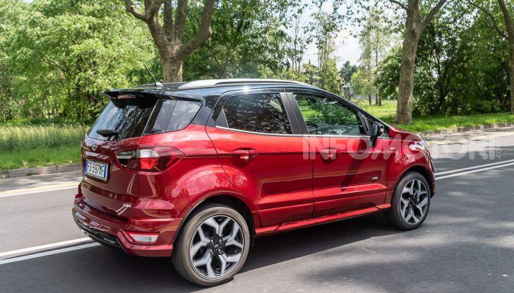 Prova Ford EcoSport 2019, il rinnovato B-SUV dell'ovale blu alla conquista dell'Europa - Foto 10 di 54