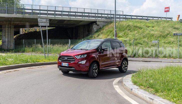 Prova Ford EcoSport 2019, il rinnovato B-SUV dell'ovale blu alla conquista dell'Europa - Foto 11 di 54