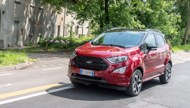 Prova Ford EcoSport 2019, il rinnovato B-SUV dell'ovale blu alla conquista dell'Europa - Foto 15 di 54