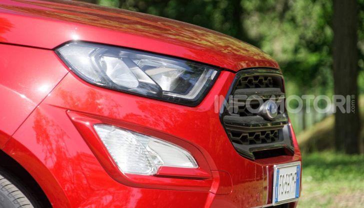 Prova Ford EcoSport 2019, il rinnovato B-SUV dell'ovale blu alla conquista dell'Europa - Foto 18 di 54