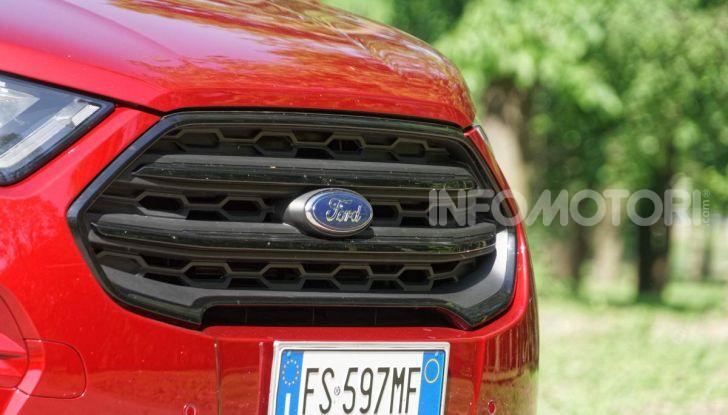 Prova Ford EcoSport 2019, il rinnovato B-SUV dell'ovale blu alla conquista dell'Europa - Foto 20 di 54