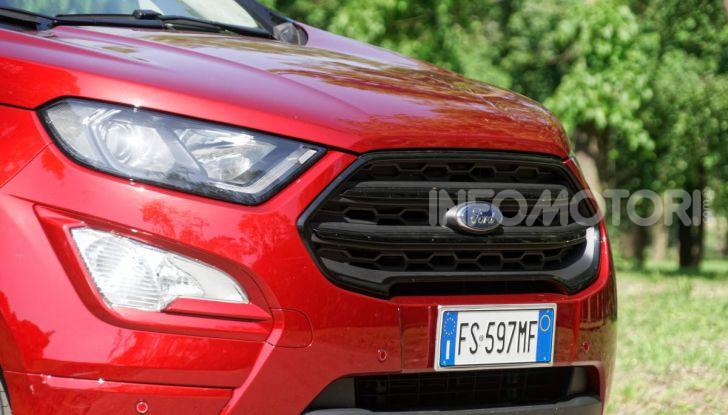 Prova Ford EcoSport 2019, il rinnovato B-SUV dell'ovale blu alla conquista dell'Europa - Foto 21 di 54