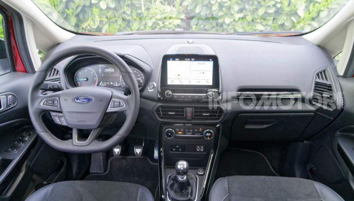 Ford Ecosport interni e sync3