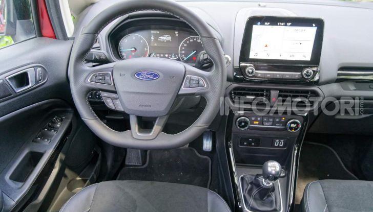 Prova Ford EcoSport 2019, il rinnovato B-SUV dell'ovale blu alla conquista dell'Europa - Foto 37 di 54