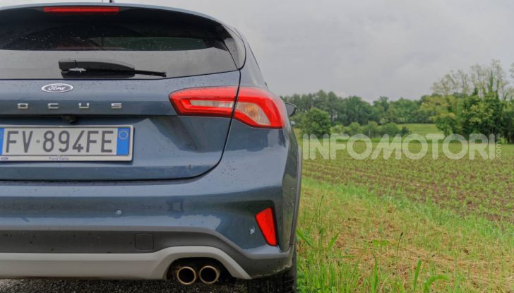 [VIDEO] Prova Ford Focus Active, la berlina che gioca alla crossover! - Foto 8 di 48