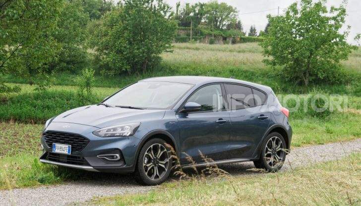 [VIDEO] Prova Ford Focus Active, la berlina che gioca alla crossover! - Foto 19 di 48