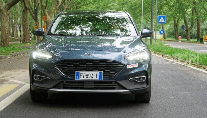 [VIDEO] Prova Ford Focus Active, la berlina che gioca alla crossover! - Foto 33 di 48