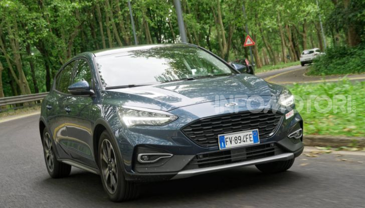 [VIDEO] Prova Ford Focus Active, la berlina che gioca alla crossover! - Foto 34 di 48
