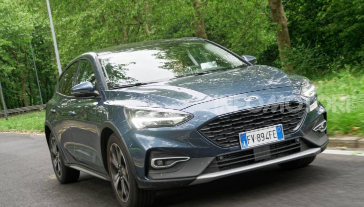 [VIDEO] Prova Ford Focus Active, la berlina che gioca alla crossover! - Foto 35 di 48