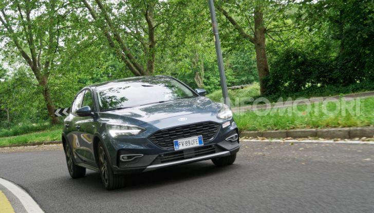 [VIDEO] Prova Ford Focus Active, la berlina che gioca alla crossover! - Foto 36 di 48