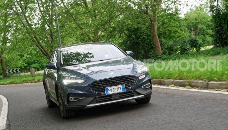 [VIDEO] Prova Ford Focus Active, la berlina che gioca alla crossover! - Foto 37 di 48