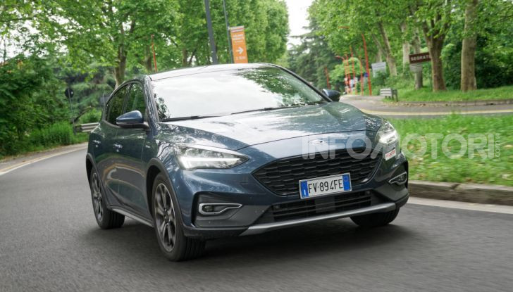 [VIDEO] Prova Ford Focus Active, la berlina che gioca alla crossover! - Foto 38 di 48