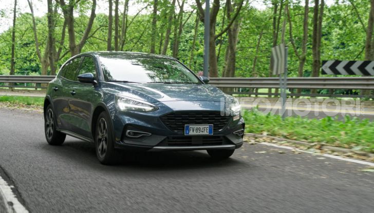 [VIDEO] Prova Ford Focus Active, la berlina che gioca alla crossover! - Foto 40 di 48