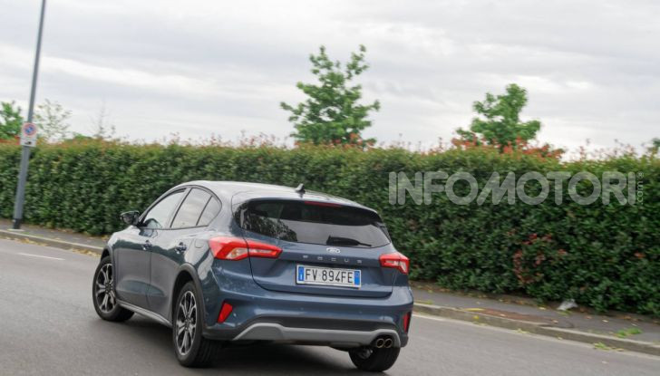 [VIDEO] Prova Ford Focus Active, la berlina che gioca alla crossover! - Foto 42 di 48