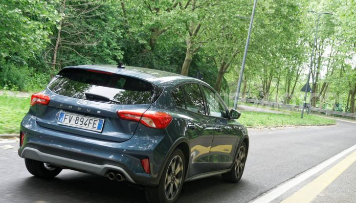 [VIDEO] Prova Ford Focus Active, la berlina che gioca alla crossover! - Foto 45 di 48