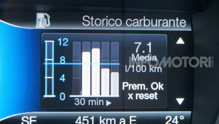 Prova video Ford Mondeo Hybrid 2.0 SW Vignale 2019, ottimi consumi reali! - Foto 12 di 61