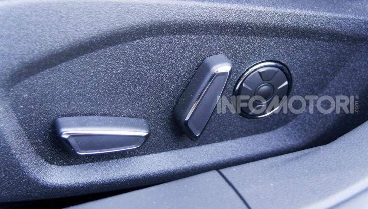 Prova video Ford Mondeo Hybrid 2.0 SW Vignale 2019, ottimi consumi reali! - Foto 24 di 61