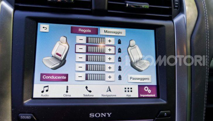 Prova video Ford Mondeo Hybrid 2.0 SW Vignale 2019, ottimi consumi reali! - Foto 26 di 61