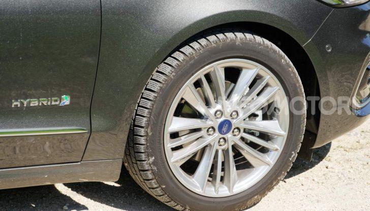 Prova video Ford Mondeo Hybrid 2.0 SW Vignale 2019, ottimi consumi reali! - Foto 37 di 61