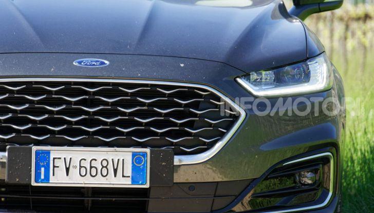 Prova video Ford Mondeo Hybrid 2.0 SW Vignale 2019, ottimi consumi reali! - Foto 50 di 61