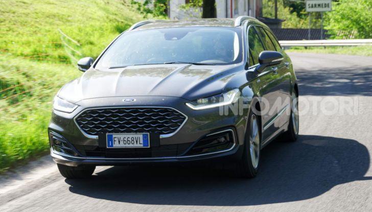 Prova video Ford Mondeo Hybrid 2.0 SW Vignale 2019, ottimi consumi reali! - Foto 60 di 61