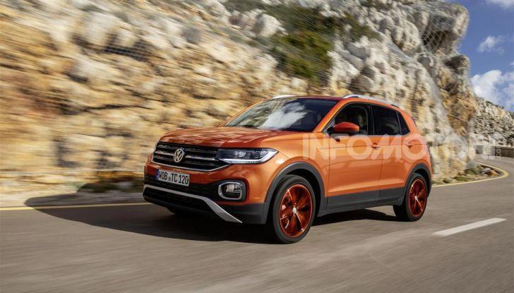 Volkswagen T-Cross ora con motore Turbodiesel quattro cilindri 1.6 TDI - Foto 10 di 10