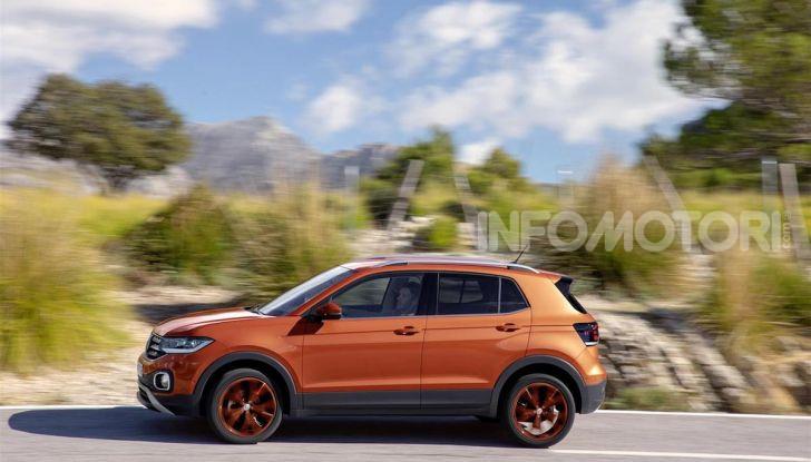 Volkswagen T-Cross ora con motore Turbodiesel quattro cilindri 1.6 TDI - Foto 4 di 10