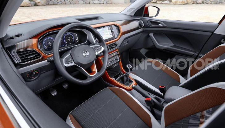 Volkswagen T-Cross ora con motore Turbodiesel quattro cilindri 1.6 TDI - Foto 6 di 10