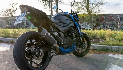 "Prova Suzuki GSX-S750 Yugen Carbon: la Naked ""italiana"" che arriva dal Giappone"