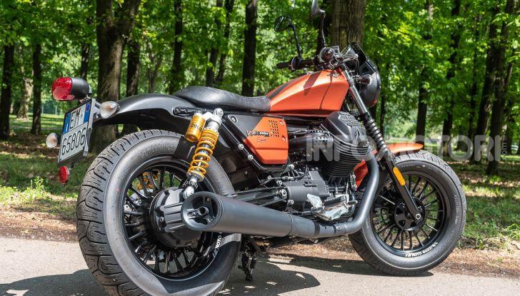 Moto Guzzi V9 Bobber Sport serie speciale stile piacere di guida
