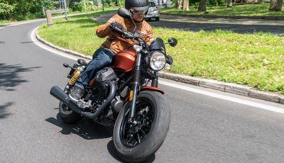 Prova su strada Moto Guzzi V9 Bobber Sport, quando l'estetica si unisce alla sostanza