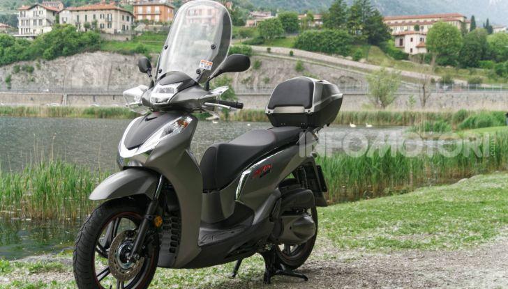 Prova Honda SH300i Sport, sempre il primo della classe! - Foto 9 di 55