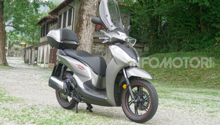 Prova Honda SH300i Sport, sempre il primo della classe! - Foto 10 di 55