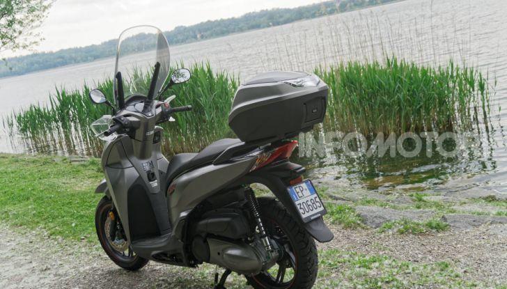 Prova Honda SH300i Sport, sempre il primo della classe! - Foto 19 di 55