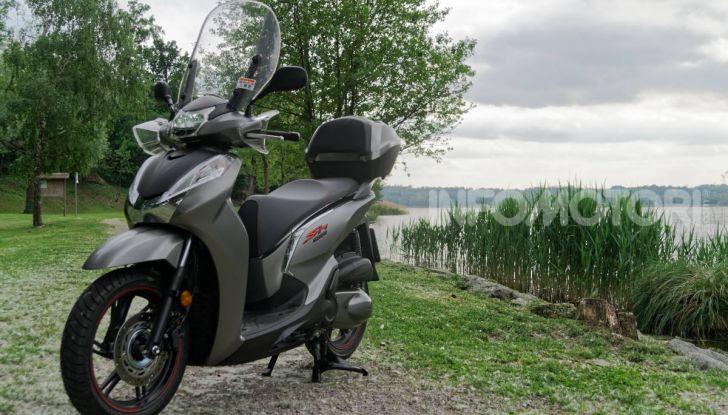 Honda SH300i Sporty estetica confermata