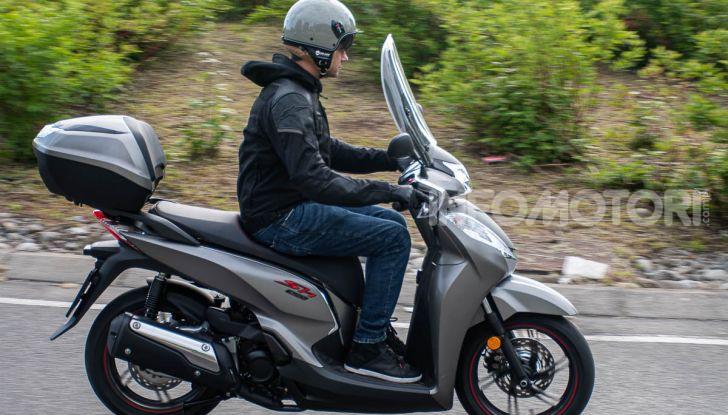 Prova Honda SH300i Sport, sempre il primo della classe! - Foto 42 di 55