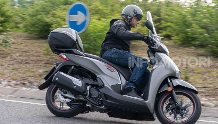 Prova Honda SH300i Sport, sempre il primo della classe! - Foto 43 di 55