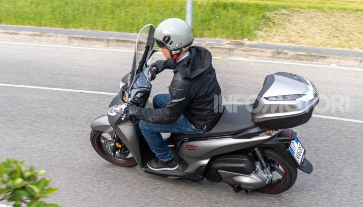 Prova Honda SH300i Sport, sempre il primo della classe! - Foto 46 di 55